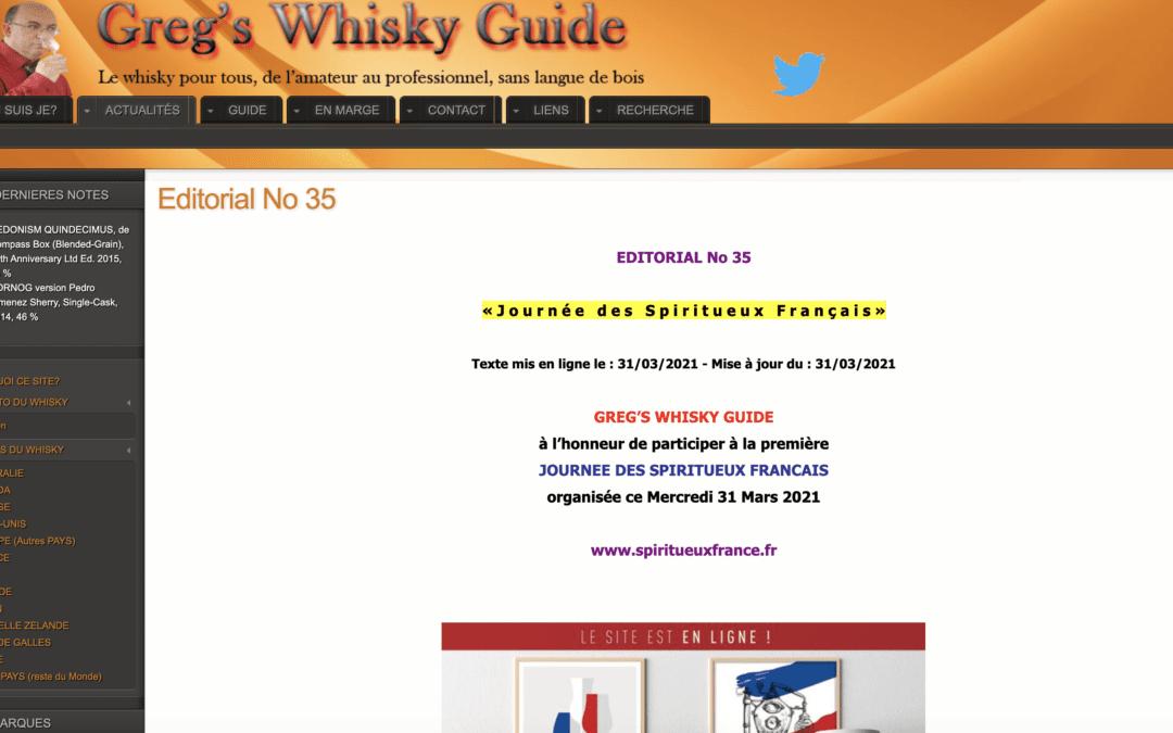 Greg's Whisky Guide